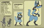 Cooper reference sheet by Cocotato