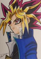 Yami ACEO gift by LadyNin-Chan
