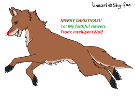 HERE'S A PRESENT by IntelligentWolf