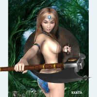 Amazon Princess  2 by exata
