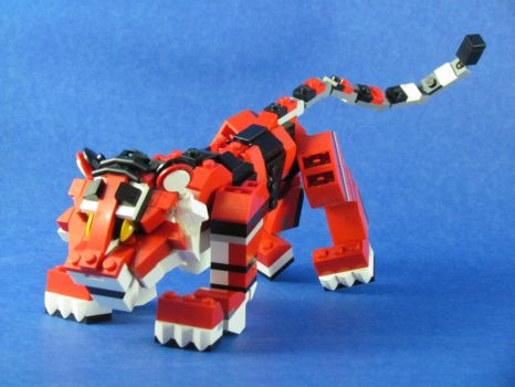 Rojo, the Tiger Cub 2 by retinence