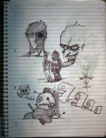 NotebookDrawings by Ranx-88