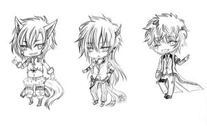 BW adoptable chibi_Hallowen Devil part 1_CLOSED by JBeanSV
