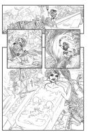 DC Comics Talent Search Harley Page by mthemordant