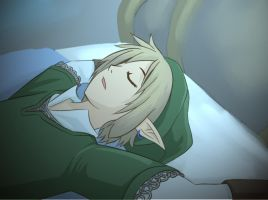 This Link sleeps by Kinoukiri