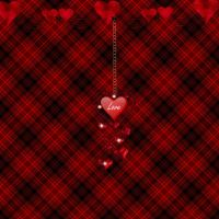 Red_Hearts_On_Plaid by SinCityGirl73