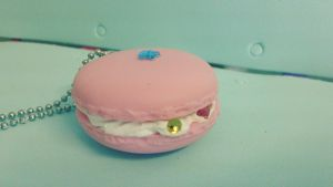 Macaron Charm ~ Polymer Clay by BejeweledLovePotion