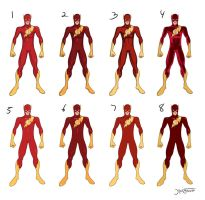The Flash design page by RC-draws