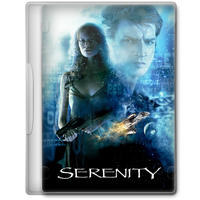 Serenity (2005) Movie DVD Icon by A-Jaded-Smithy