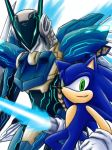 Sonic n Jehuty:Blue Extremers by maruringo
