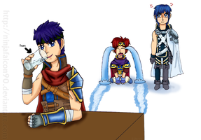 SSB Ike returns to SSB by NinjaFalcon90