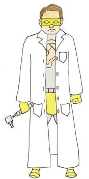 30 Characters 2013 Day 23-Otologist by vincebayless