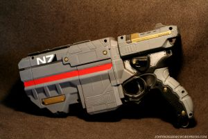 Mass Effect Nerf Vigilon Final by JohnsonArms