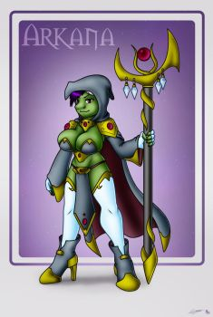 Goblin Witch Arkana by Evil-Rick
