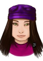 Girl in Purple by PatrickGavin