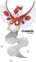 Contest Entry - Delibird Evo: Clousbird by LeafyHeart