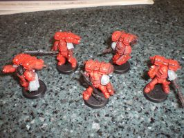 Blood Angels Vanguard WIP by tethesis