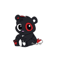 Custom Chibi Panda for Kitonlyhuman by PandaTJ