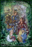 RenFest anthology cover by rachaelm5