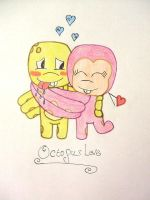 Octopus Love- Sunny and Sheen by J44