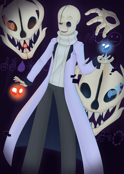 Gaster II by Paralysa