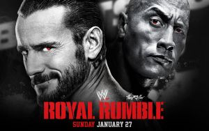 Royal Rumble 2013 - CM Punk vs. The Rock by TheReller