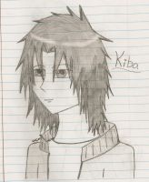 Kiba in pencil by immortaldragon27