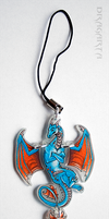 Auction: Cool dragon keychain by Dragarta