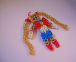 Rainbow Loom - Sailor Moon by MariamAlexius