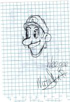 Weegee:practise by Dino-drawer