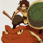 Turtle Warrior Russ by tunaniverse