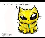 yellow kitty by cme