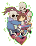 UNDERTALE by Pandalana