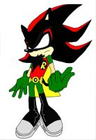 Sonic-afied Robin by ColdHeartedCupid