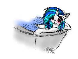 In the tub by VegemiteGuzzler