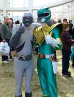 Green Ranger and Putty Patrol 2 by GamerSpax