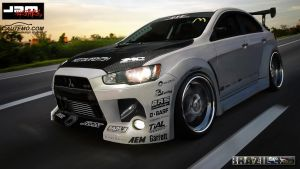 Lancer Evo X WTB11 Brazil 4 by CaponeDesign