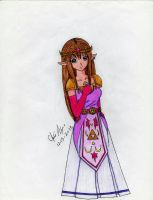 Princess Zelda by Kisarasmoon