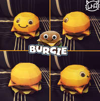 Game Grumps Papercraft ~ Burgie ~ by SuperRetroBro