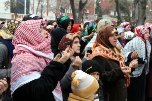 israel protest in turkish town by ademmm