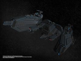 Battlecruiser now with Lights by Mallacore