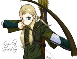 Legolas Greenleaf by prongsie