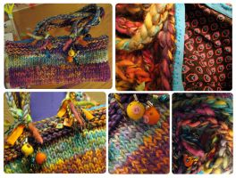 Super Knit Purse of AWESOME by SaltyMoose