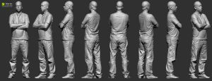 Full Body scan clothing reference by Ten24