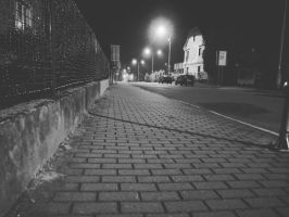 BW street by Isaaca