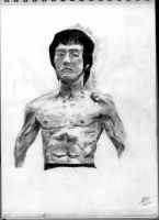Bruce lee by thiphobia