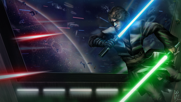 Star wars by RobbSimon