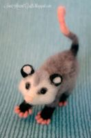 Needle felted Possum II by SaniAmaniCrafts