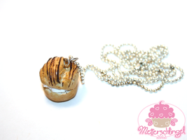 Cream puff Necklace by Metterschlingel