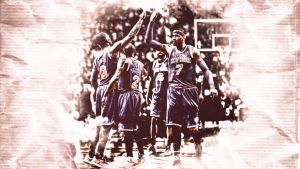 New York Knicks Wallpaper by EsegaGraphic
